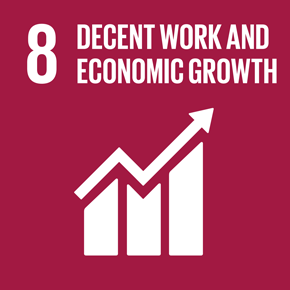 SDGs Goal 8: Promote inclusive and sustainable economic growth, employment and decent work for all