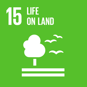 SDGs Goal 15: Sustainably manage forests, combat desertification, halt and reverse land degradation, halt biodiversity loss