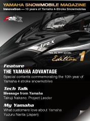 YAMAHA SNOWMOBILE MAGAZINE Edition 1