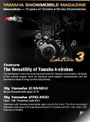 YAMAHA SNOWMOBILE MAGAZINE Edition 3