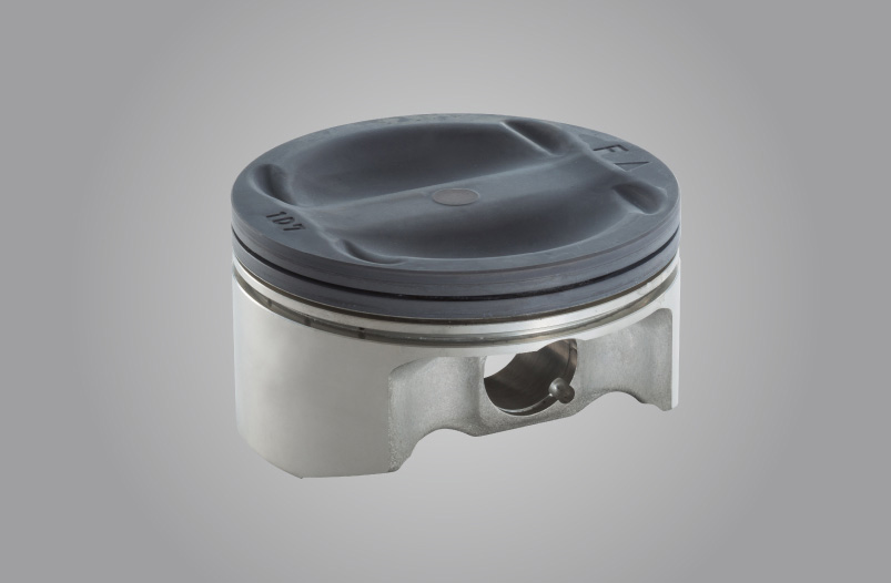 Forged Aluminum Piston (Alumite-treated)