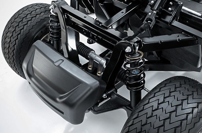 Smooth suspension for a luxurious ride