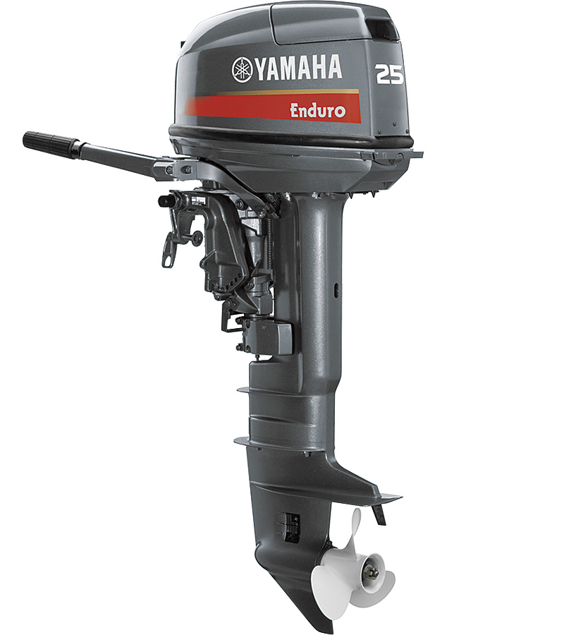 25 8ps enduro models yamaha outboard yamaha motor co for Yamaha 25hp 2 stroke outboard