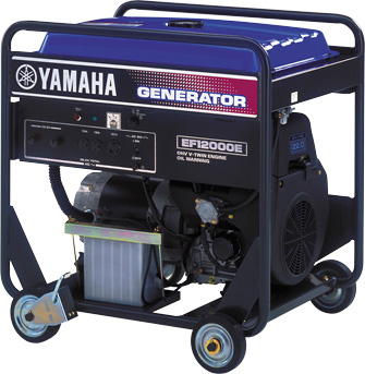 Ef12000e power products yamaha motor co ltd for Generator motor for sale