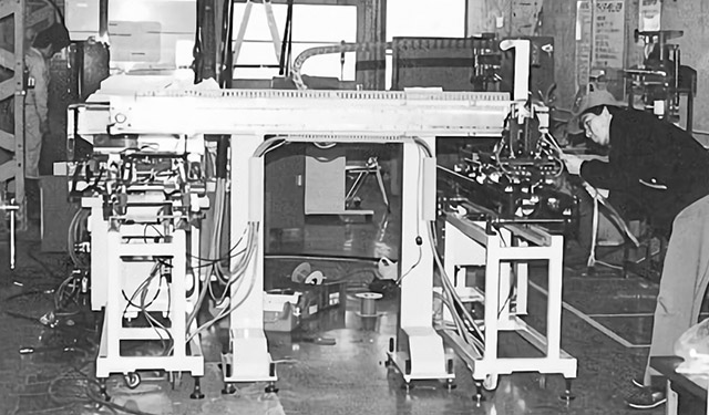 the history and use of robots in industry The early assembly line the concept of interchangeable parts first took ground in the firearms industry when french gunsmith a brief history robots.