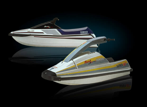 Yamaha Waverunner Model History