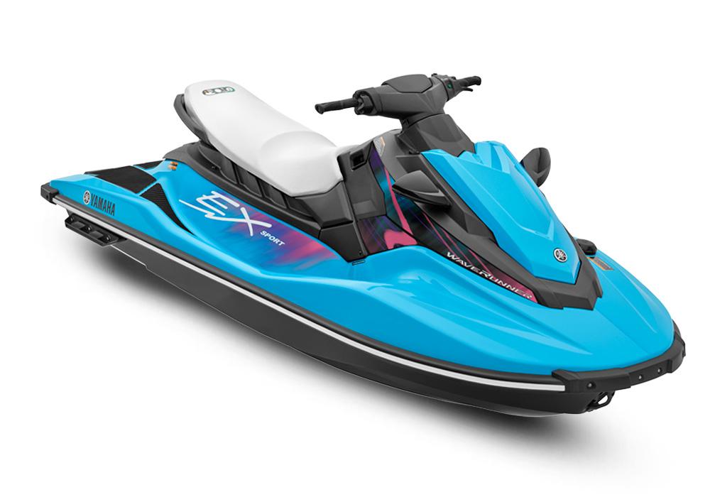 Ex sport color specifications waverunner pwc for Yamaha ex waverunner