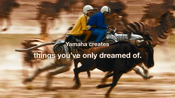 At Yamaha, This is What We Do.