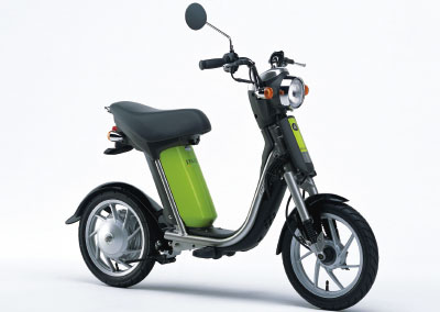 Introduced an environmentally friendly urban commuter scooter