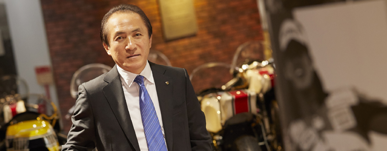 I hope to deliver new, uniquely Yamaha products to people all over the world and share a variety of exceptional value and experiences that enrich the lives of everyone.