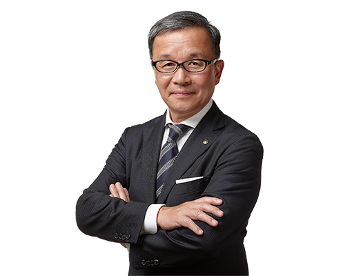 Executive Vice President and Representative Director Chief General Manager of Marine Business Operations Takaaki Kimura