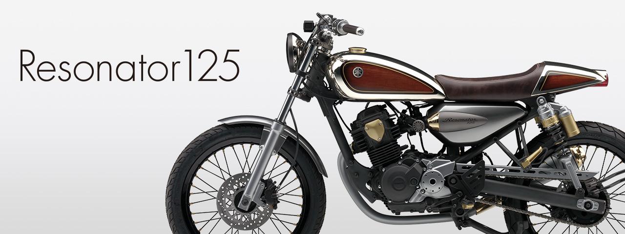 Resonator 125 yamaha motor design for Yamaha motor company profile