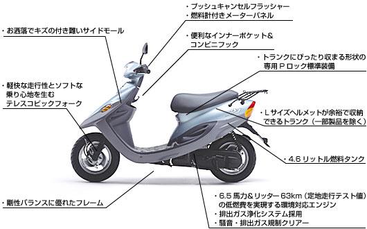 自転車の 原付自転車 税金 : ヤマハスクーター「BJ(BJ YL50 ...