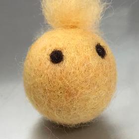 フェルト 作り方 羊毛