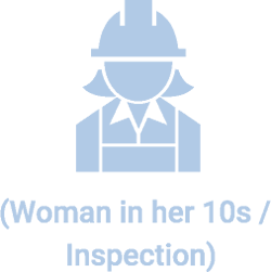 (Woman in her 10s / Inspection)