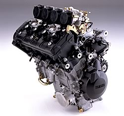 2003 european model yzf r6 debuts at intermot munich for Yamaha motor com parts