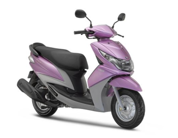 Release of the new cygnus ray scooter model for the for Yamaha motor com parts
