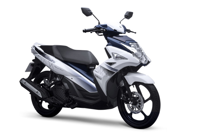Premium Sports Scooter to Represent Yamaha Motor Brand in Vietnam, New Nouvo SX Model with