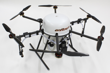 Yamaha Motor and enRoute Discussing Industrial Drone Alliance Aiming