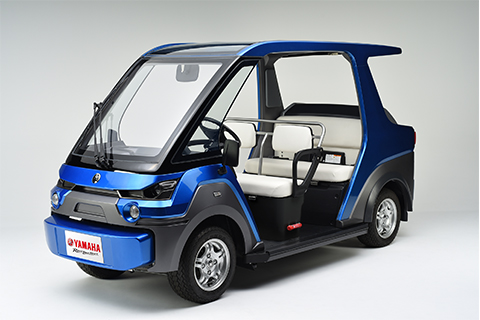 Yamaha Motor Begins Electric Public Personal Mobility Road Trial