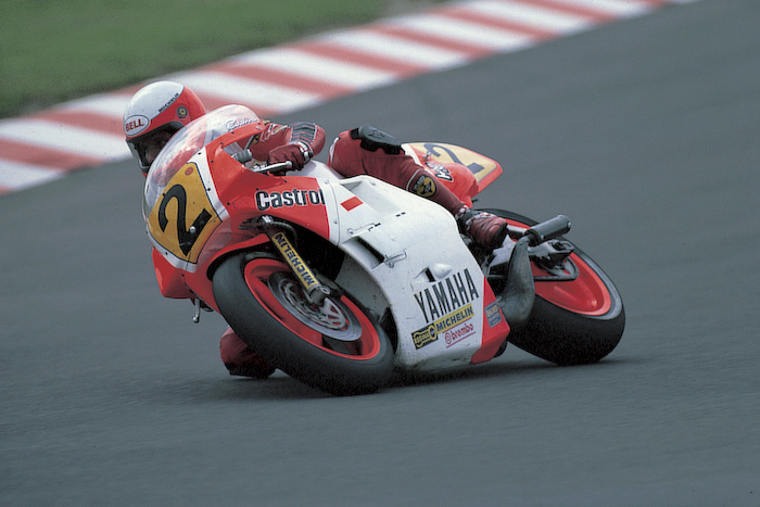 Eddie Lawson Yamaha Gp