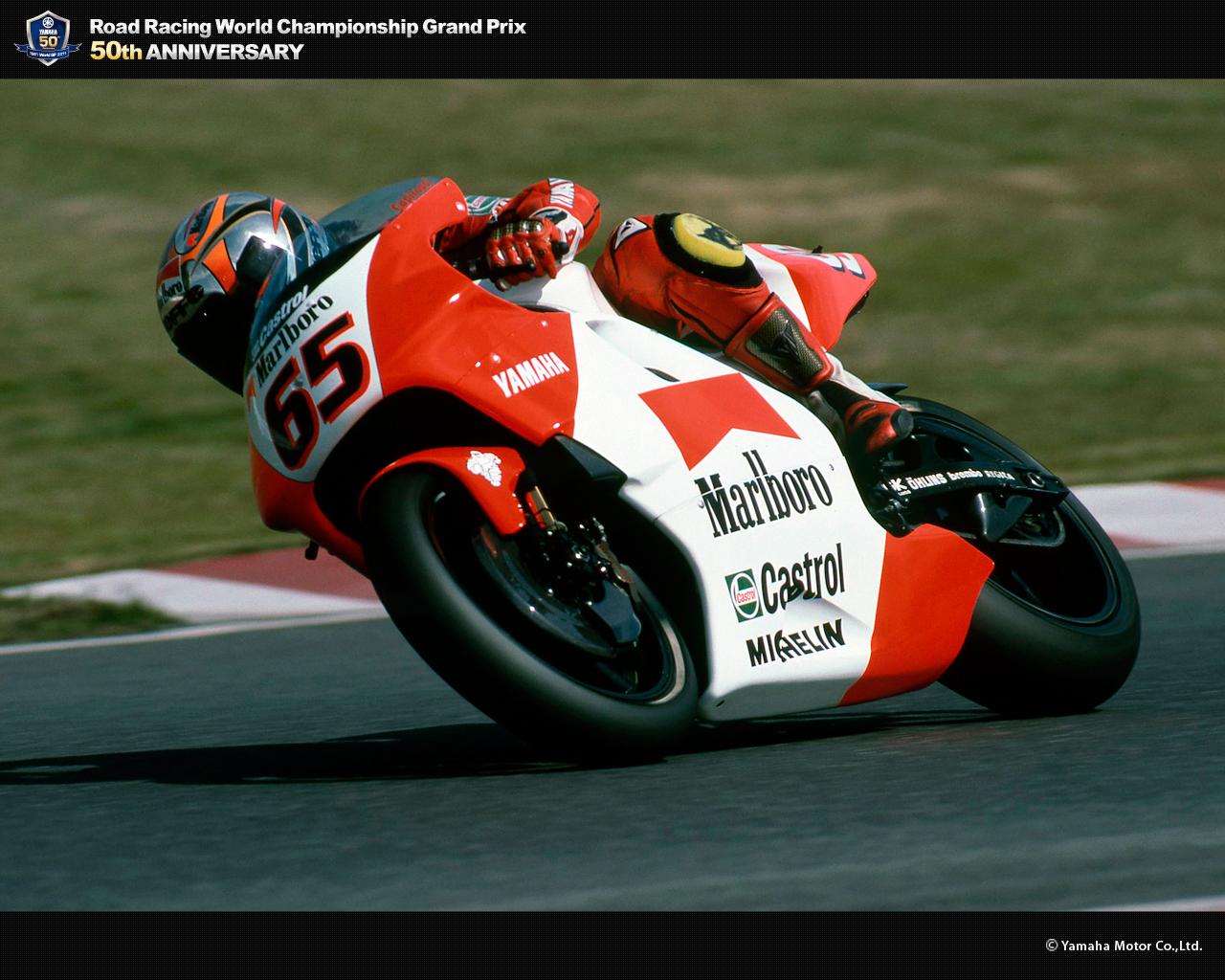 Loris Capirossi - race   Yamaha Motor Co., Ltd.