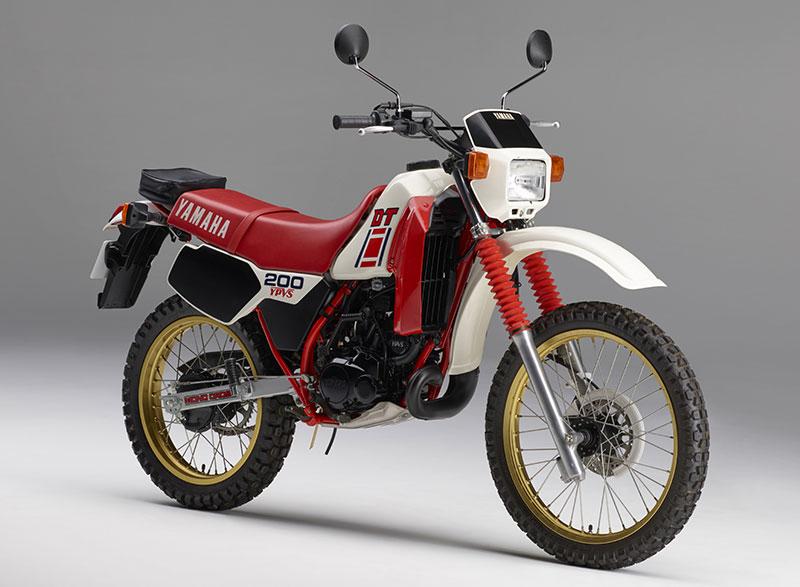 Yamaha Dt History