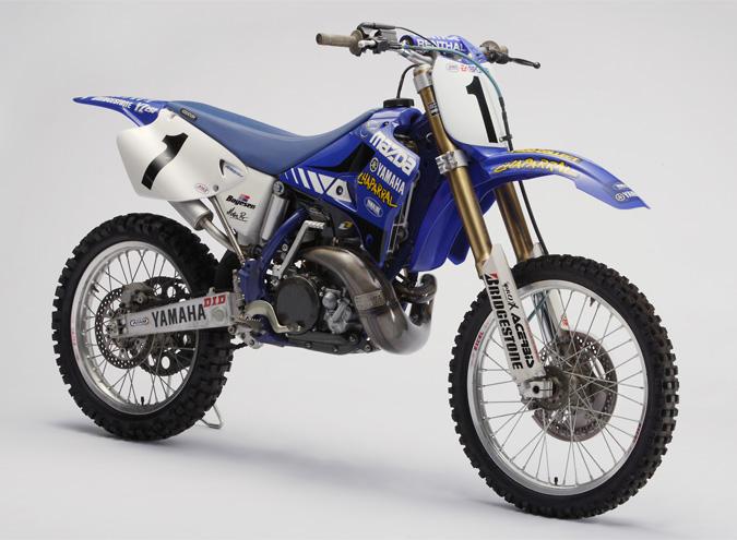 Jeremy Mcgrath S  Yamaha Yz