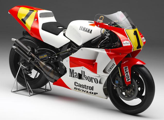 spray it … Wayne Rainey, Marlboro Roberts-Yamaha YZR500