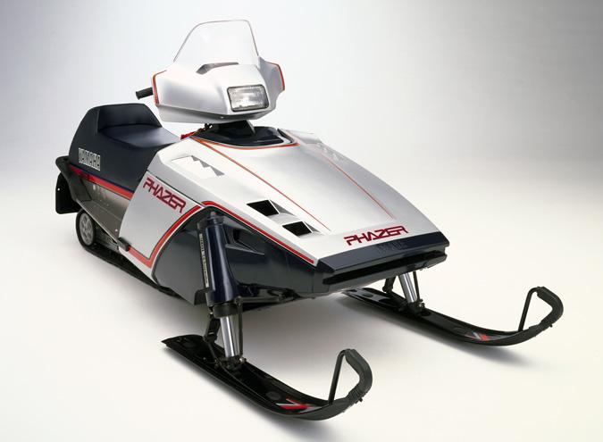 Yamaha Phazer Snowmobile