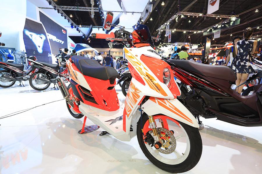 Yamaha Mio Motor Show