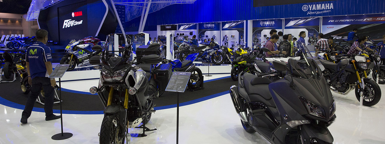 Car Show 2015 >> Bangkok International Motor Show 2015 Events Yamaha