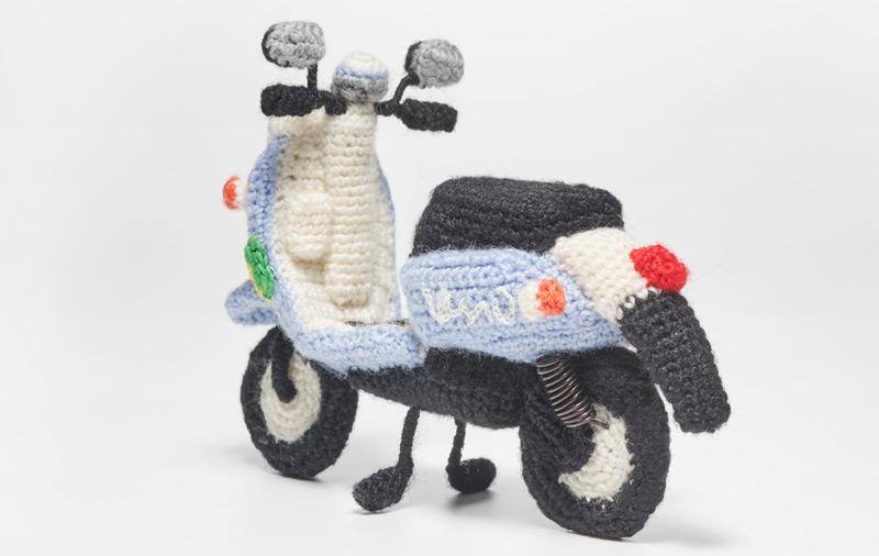 Zan Crochet: Vespa | 506x800