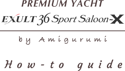 Premium Yacht (EXULT36 Sports Saloon-X) how-to guide