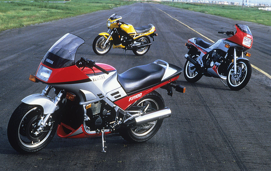 Vol 6 the fz750 opening a new era of yamaha handling for Yamaha sport bikes models