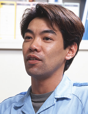 Yoshitaka Kojima, a member of Yamaha's Road Testing Unit, 2nd Project Engineering Division at the time of the interview